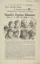 Advert For Cassell's Popular Educator